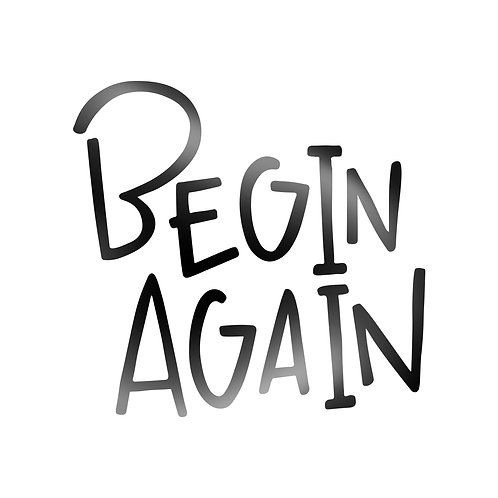Begin Again Decal