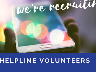We're Recruiting: Helpline Volunteers