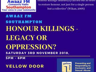Honour Killings: Legacy or Oppression?