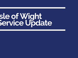 Isle of Wight Service Update