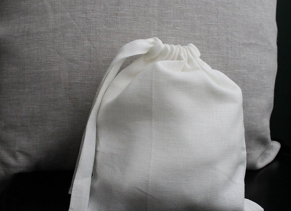 SEWN Pouch - White