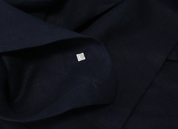 Table Cloth with Mitred Corner - Navy