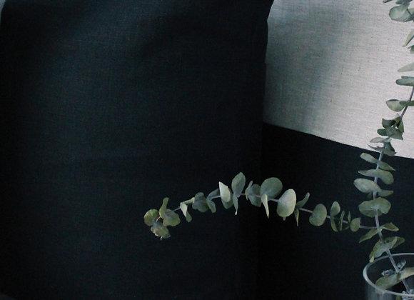 Linen Cushion Cover - Navy