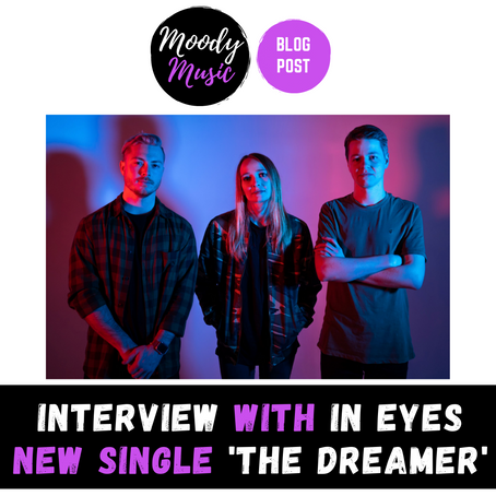 INTERVIEW with IN EYES   new single THE DREAMER