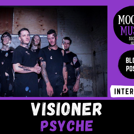 VISIONER: Spooky Chats with Robbie & Jayden about 'Psyche' | INTERVIEW