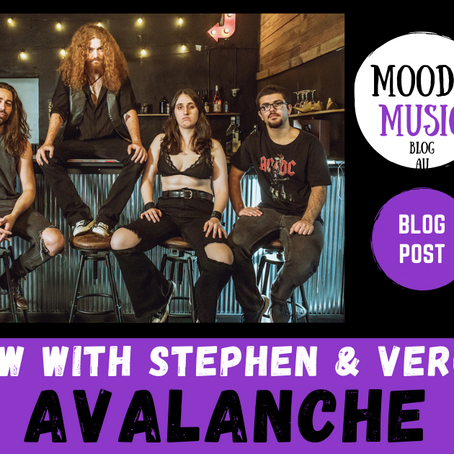 AVALANCHE: wholesome hard rock chats with Stephen & Veronica | INTERVIEW
