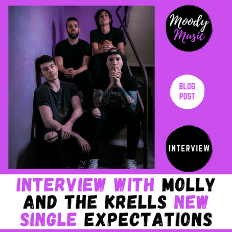 Molly And The Krells new single Expectations | INTERVIEW