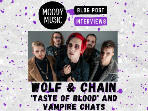 WOLF & CHAIN: New Single 'Taste of Blood', plus Vampire Chats | INTERVIEW