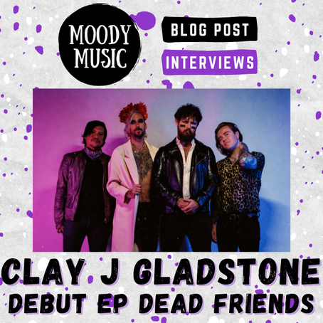 CLAY J GLADSTONE: Crazy Deep Chats about their Debut EP | INTERVIEW