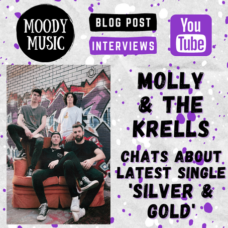 MOLLY AND THE KRELLS: Blake chats about latest single 'Silver & Gold'   Video Interview