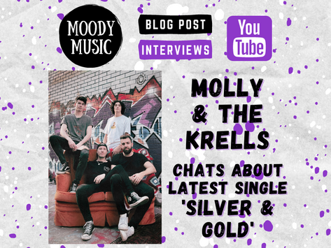MOLLY AND THE KRELLS: Blake chats about latest single 'Silver & Gold' | Video Interview