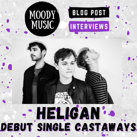 HELIGAN: Chatting about Debut Single 'Castaways' with Miles, Josh & Sean | INTERVIEW