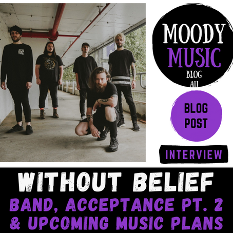 WITHOUT BELIEF: Band, Acceptance Pt.2 & Upcoming Music Plans | INTERVIEW W/ Ralph & Jake