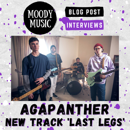 AGAPANTHER: 'Last Legs' & 'Pseudo' singles, Tattoos and Vinyl Chats | INTERVIEW