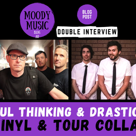 WISHFUL THINKING & DRASTIC PARK: Vinyl & Tour Collab | DOUBLE INTERVIEW
