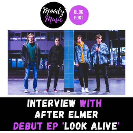 INTERVIEW with AFTER ELMER | debut Ep. LOOK ALIVE