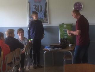 U16 drengene tog afsked med træneren med manér.