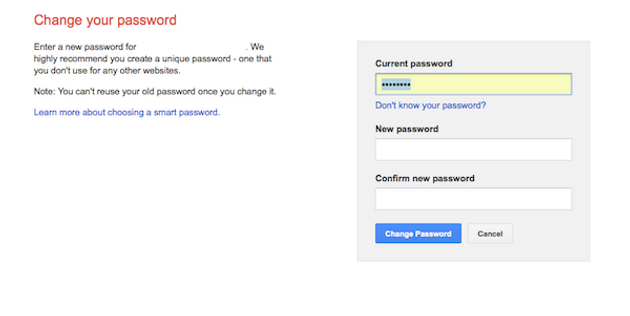 How to Gmail Password Change   howcues