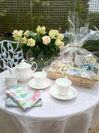 Luxury West Country Cream Tea Hamper