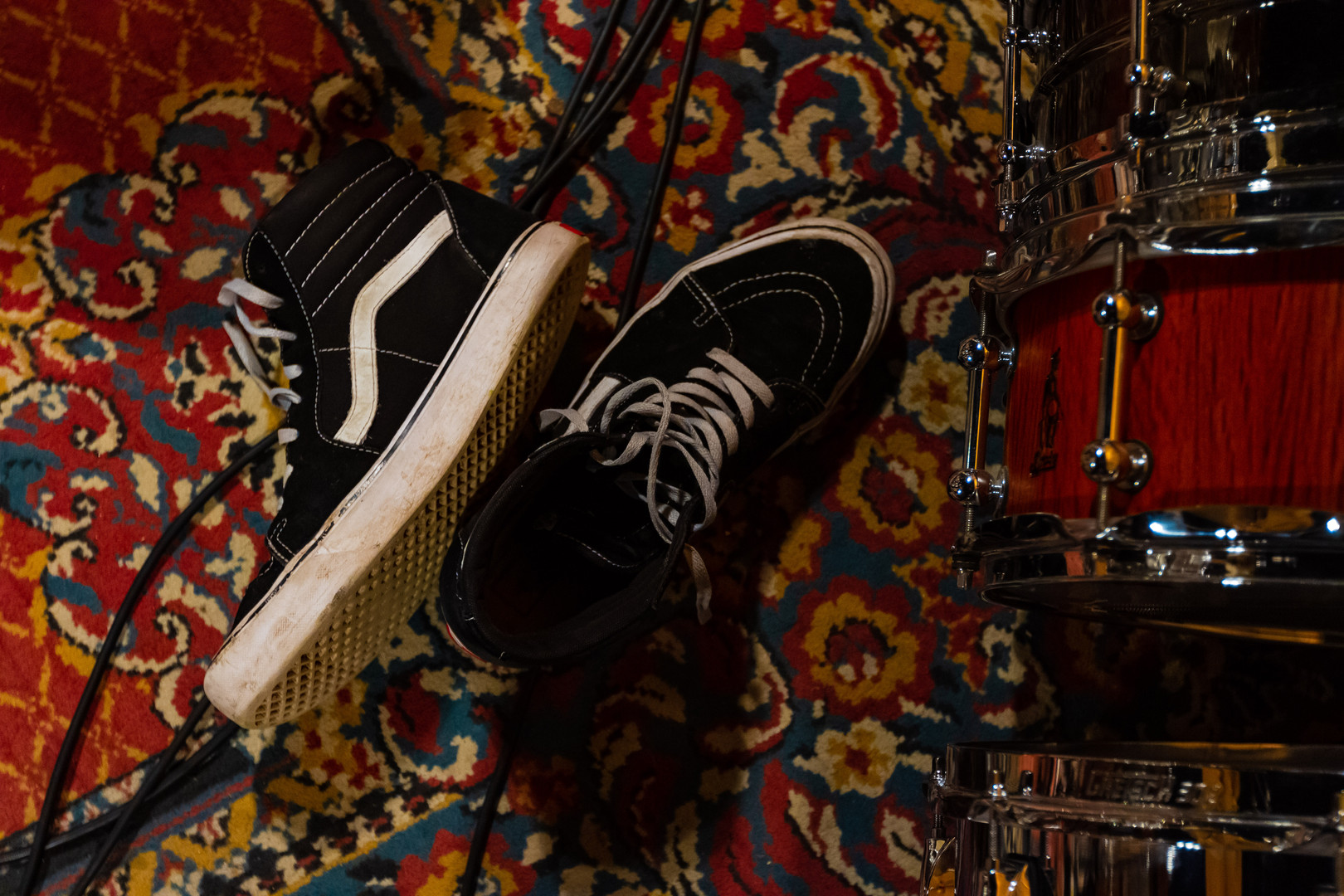 Vans and Brady Snare