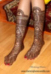 Traditional Bridal Henna Design