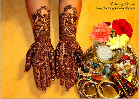 Bridal Henna washington DC- Charminghenna
