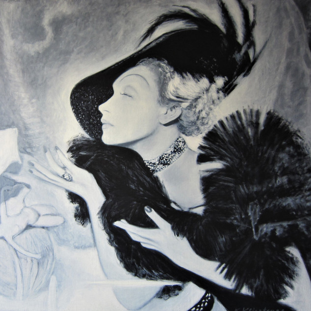 Marlene Dietrich nach Cecil Beaton