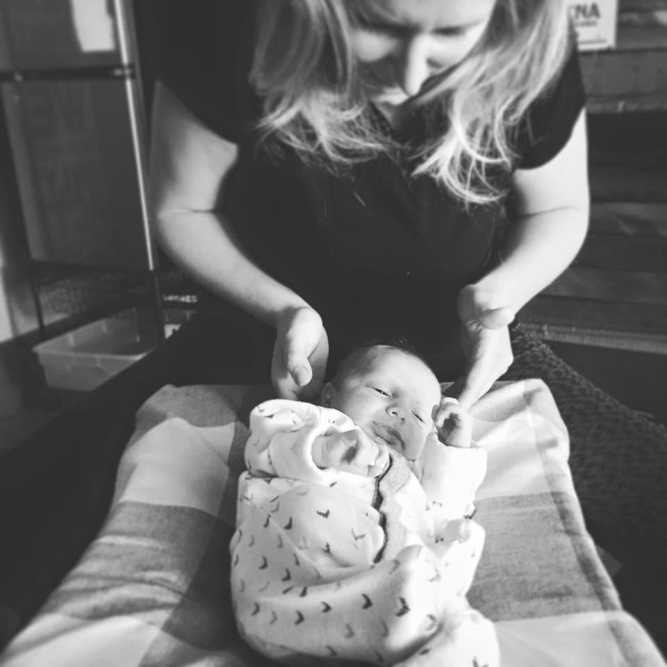 Sweet newborn adjustment