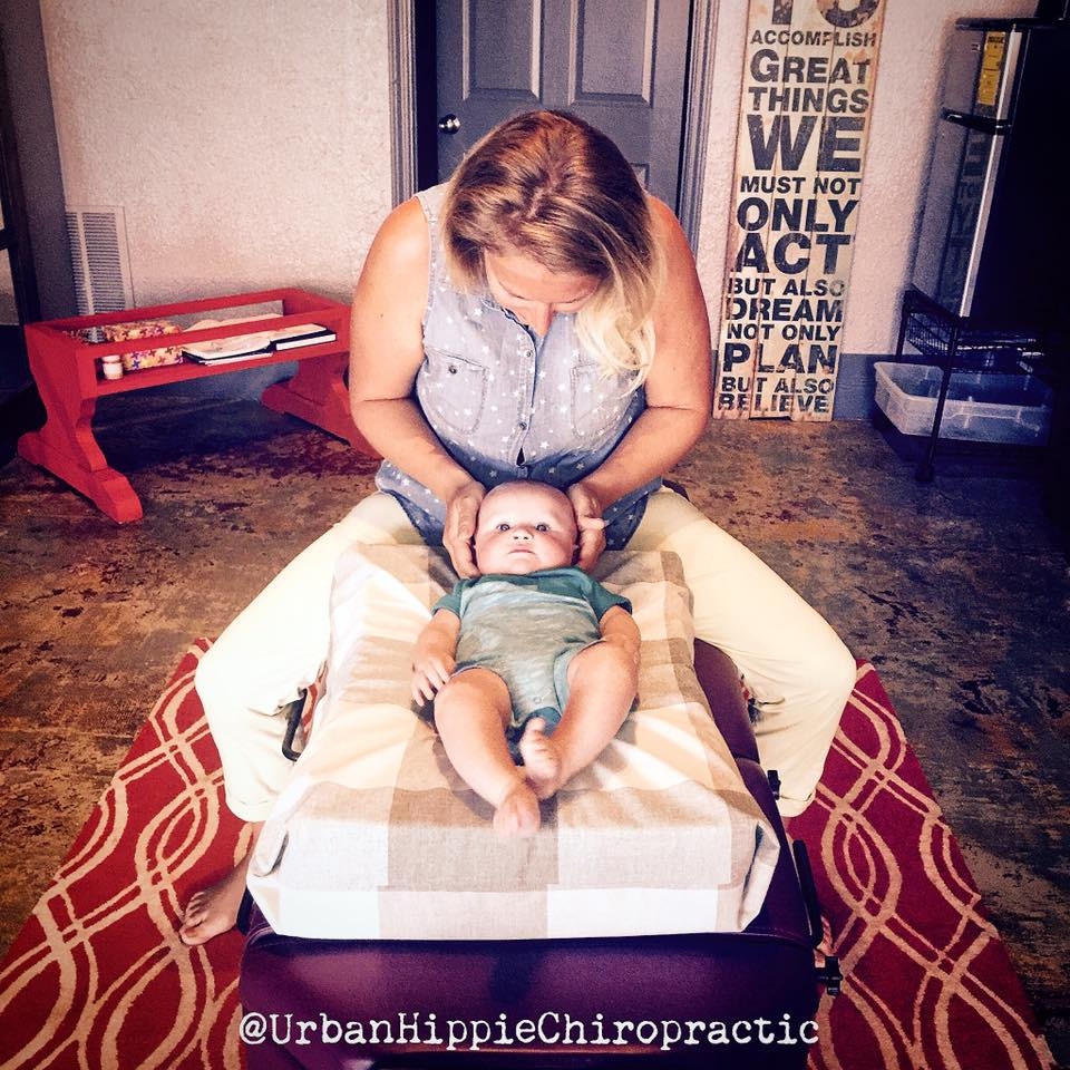 Gently pediatric adjustment by Dr. Browning