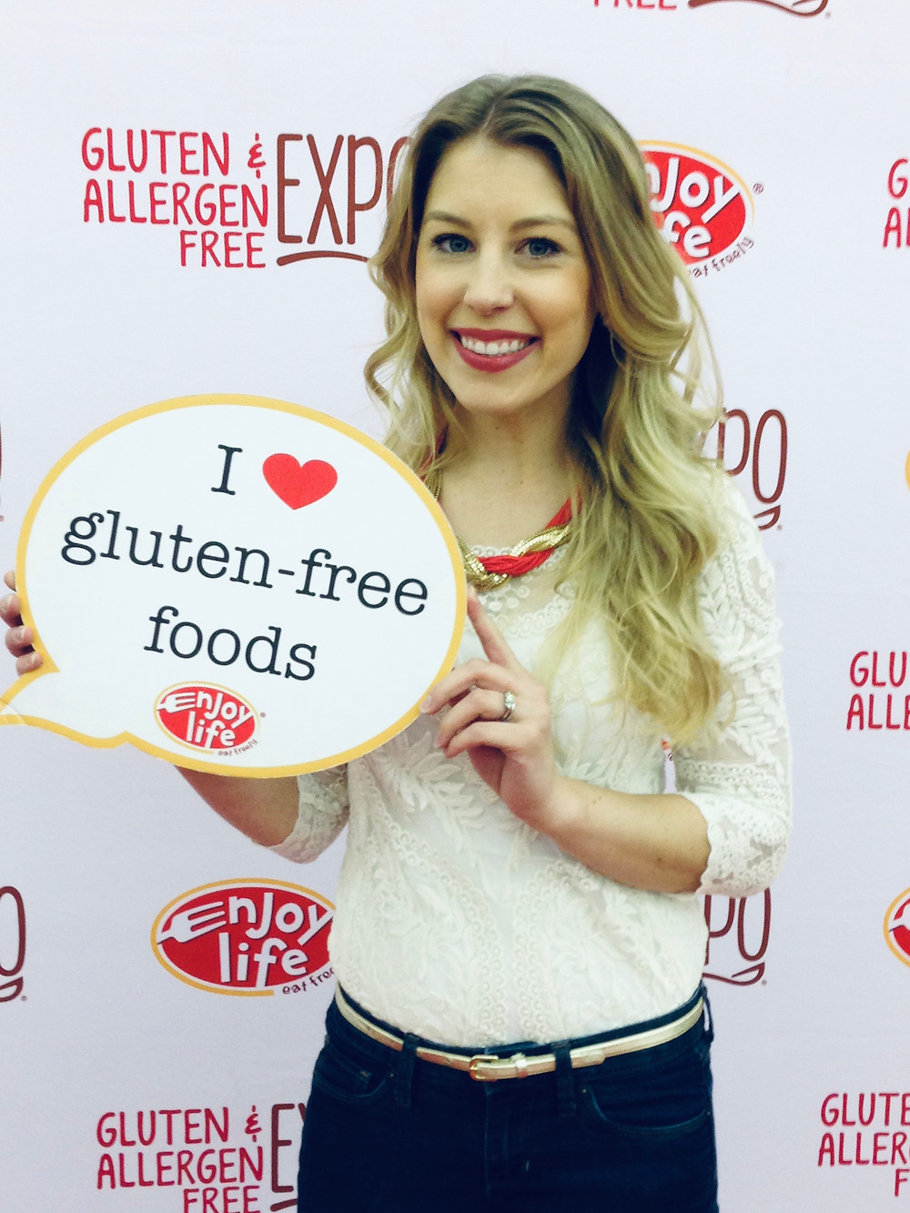 Dr. Bruner at Gluten Free Expo (GFAF Expo)