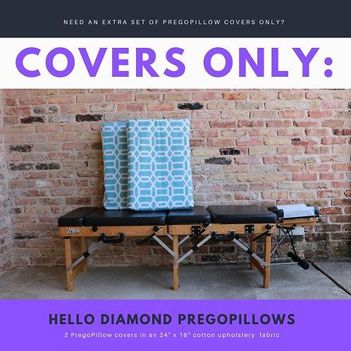 Hello Diamond PregoPillow COVERS ONLY Set