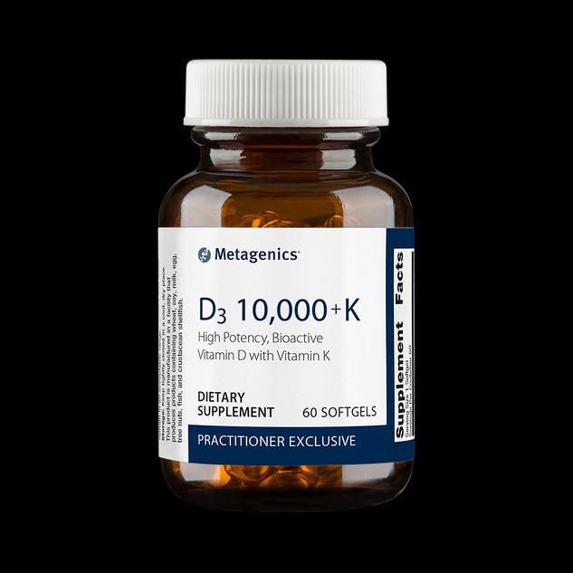 D3 10,000 + K