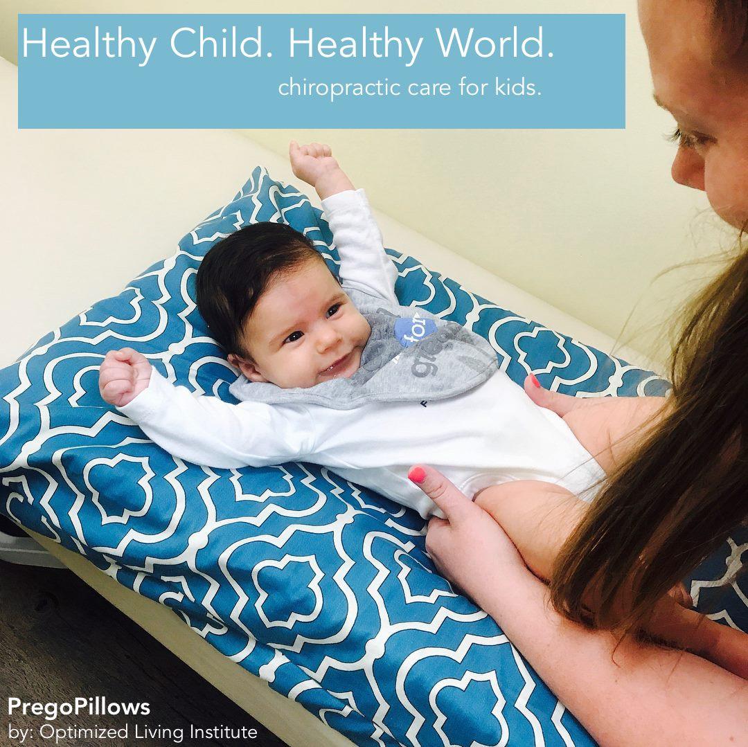 Baby Beckham in Turquoise Bind PregoPillows