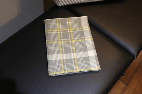 Yellow & Grey Plaid Blanket