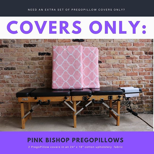 Pink Bishop PregoPillow COVERS ONLY Set