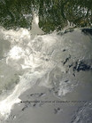 LFR - Satelite Image of Oil Slick - gulf