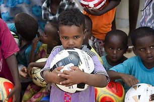 African Children - Soccer Ball - CGTF.jp