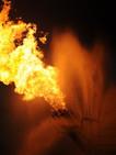 LFR - Buring Gas From Deepwater Horizon