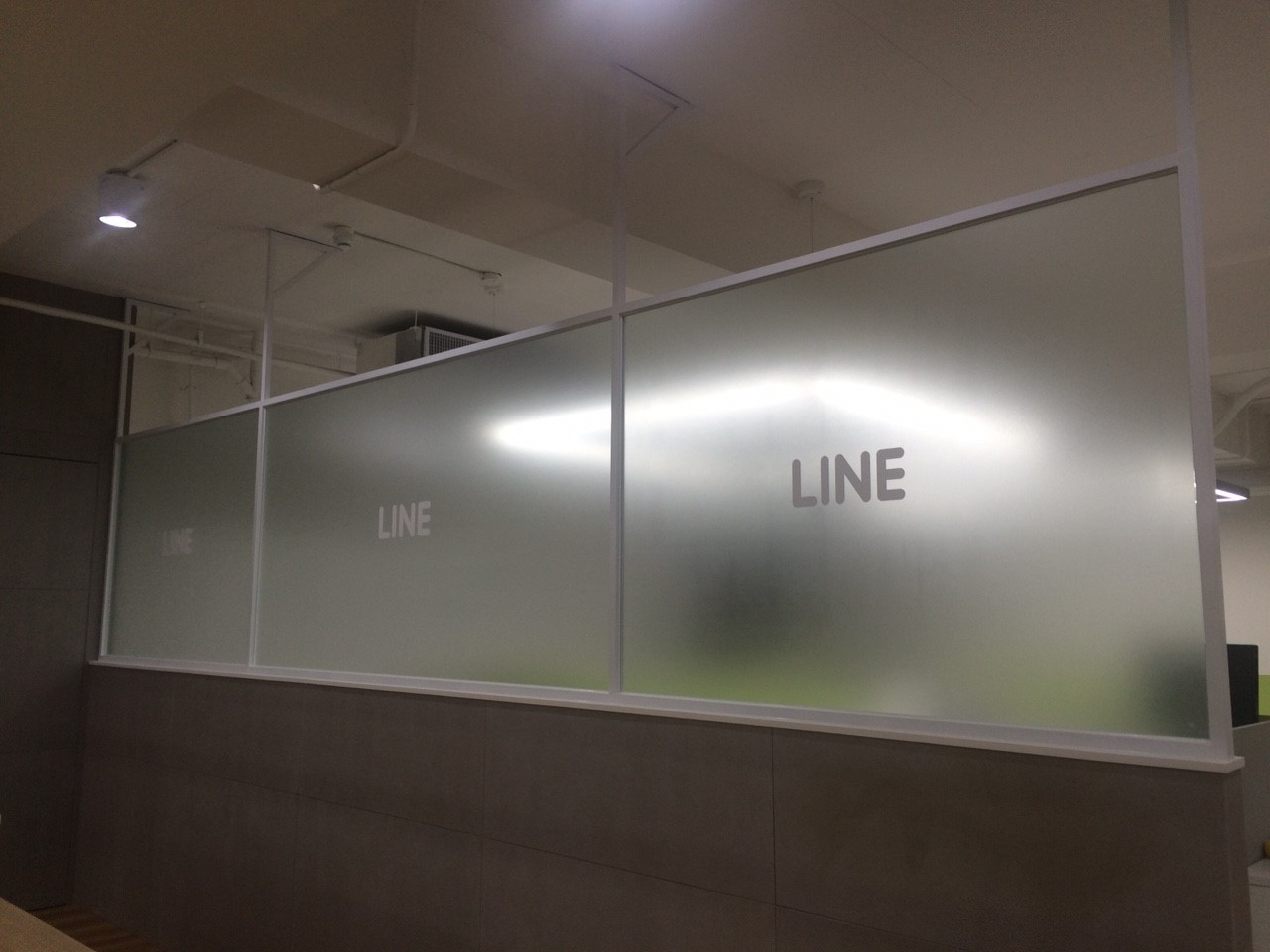 Line台北總部辦公室(請勿翻拍 轉存使用)
