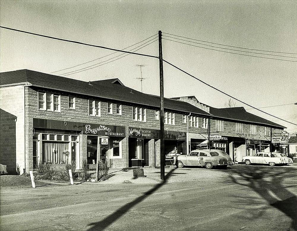 Kerr Street north of Herald Avenue - 1957