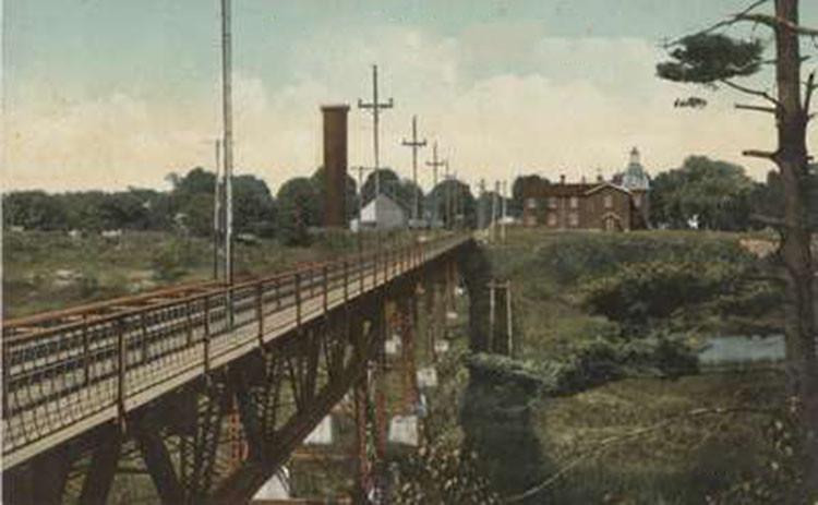 Radial Bridge Looking East