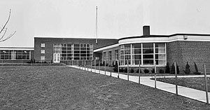 Oakwood Public School circa 1969