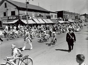 Bicycle Rodeo and Safety Parade circa 1950s