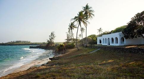 Denys Finch Hattons hus i Takaunga ved Det Indiske Ocean.