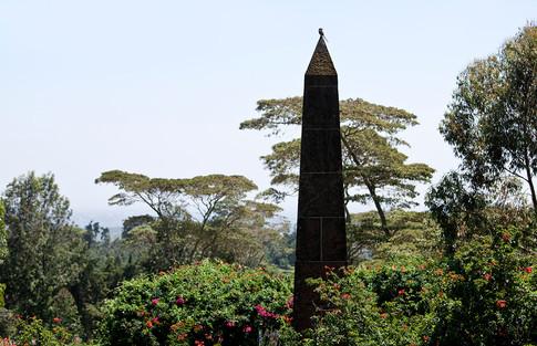 Denys Finch Hattons grav i Ngong Hills.