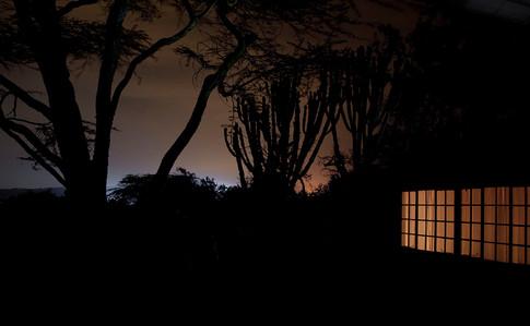 Onkel Mogens' hus ved Naivasha søen.