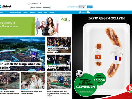 Neues Newsportal Züriost mit speziellem Angebot für Vereine