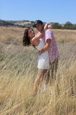 Couple's engagement photos