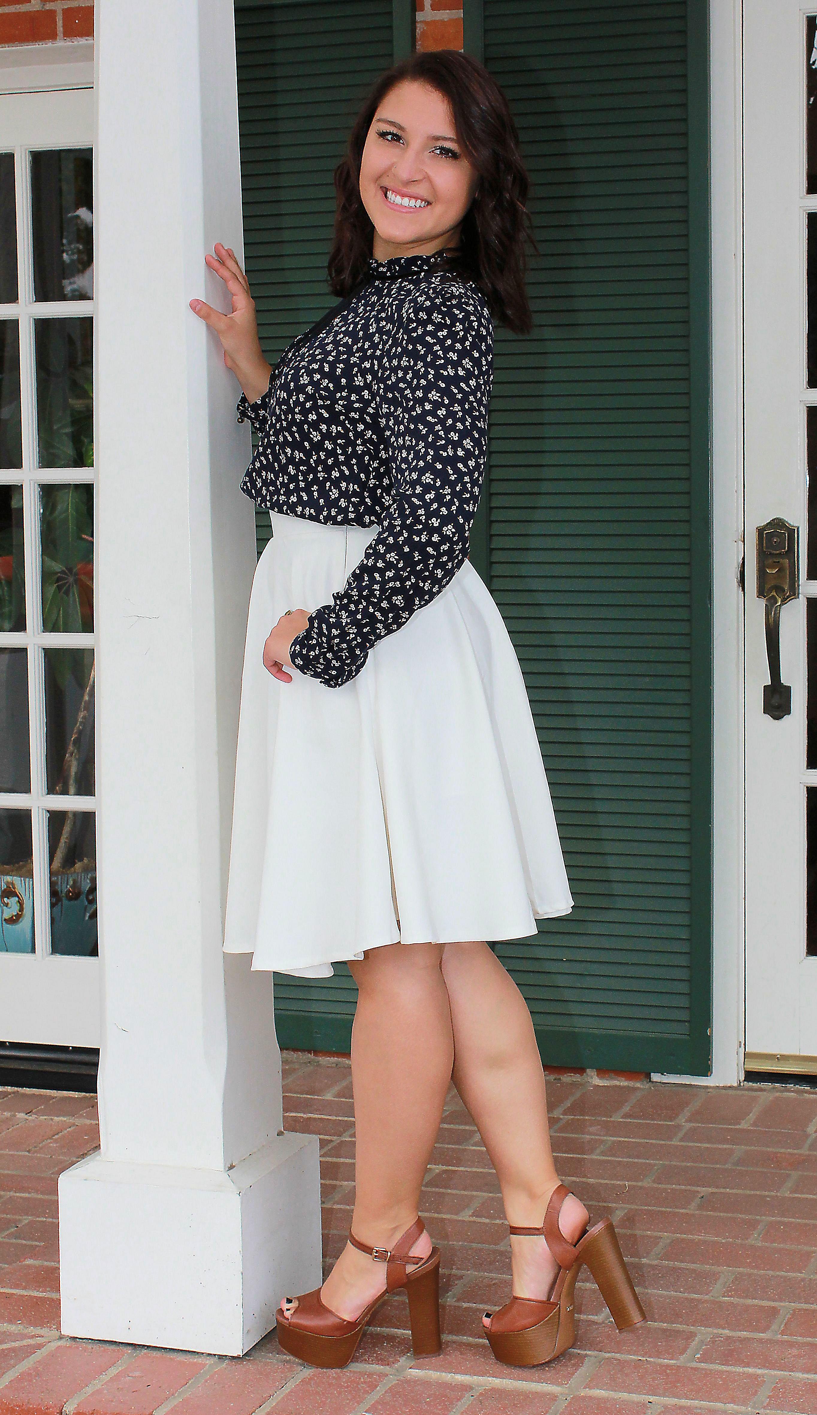 sassy senior photo