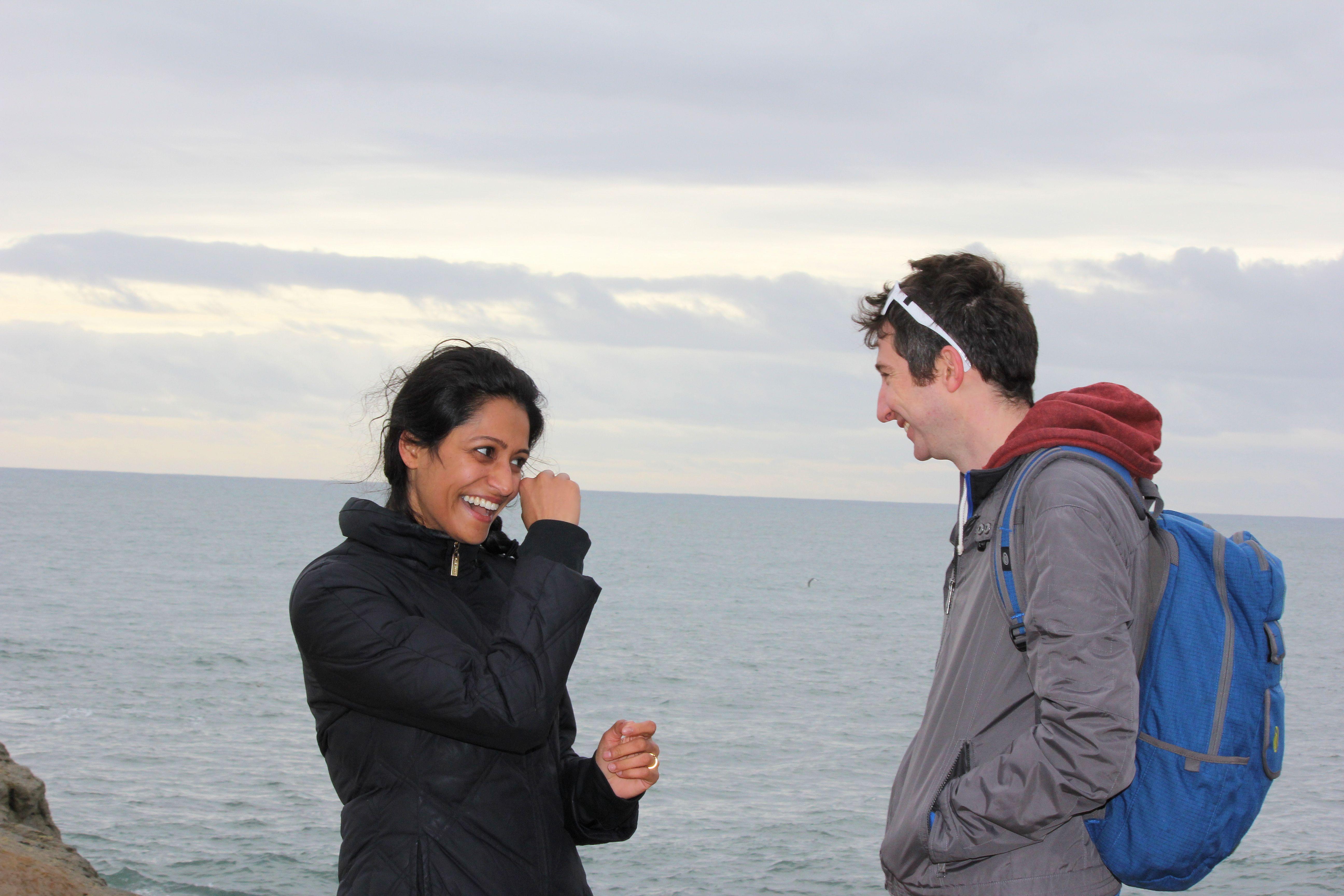Happy tears wedding proposal photo